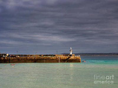 St Ives Wall Art - Photograph - St Ives In Cornwall by Louise Heusinkveld