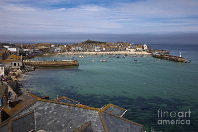 Photograph - St Ives Jewel Of Cornwall by Anthony Morgan