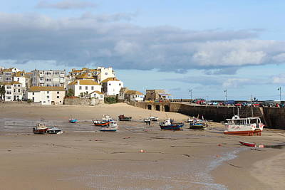 Photograph - St Ives by Paula Guy