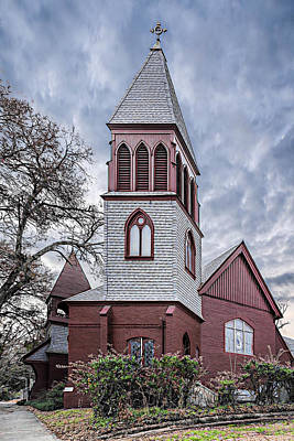 Photograph - St James Episcopal Church   by Maria Coulson