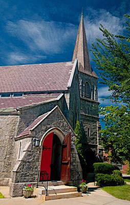 Photograph - St. James Episcopal Church by Paul Mangold