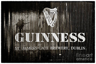 St Patrick Day Photograph - St. James Gate Brewery by John Rizzuto