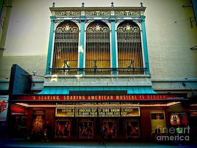 St. James Theatre Balcony Art Print
