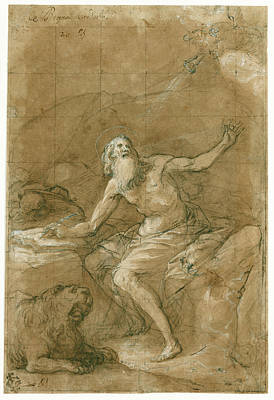 St. Jerome Hearing The Trumpet Of The Last Judgment Vicente Art Print