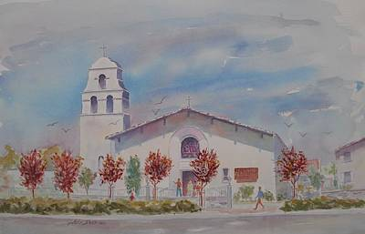 Painting - St. Joachim Church by John  Svenson
