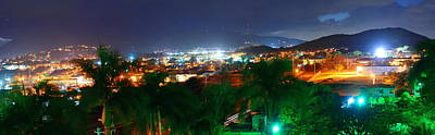 Photograph - St John Bay Panorama  by Songquan Deng