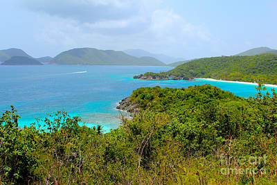 Van Dyke Photograph - St John Beaches by Carey Chen