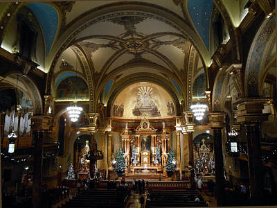 St John Cantius At Christmas Original by Michael Durst