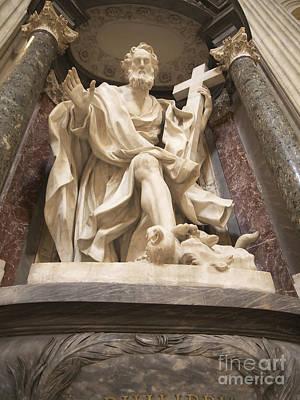 St John Lateran Basilica Art Print by Brenda Kean