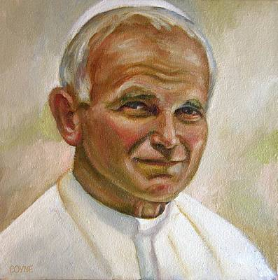 St. John Paul II Original by Brian Coyne