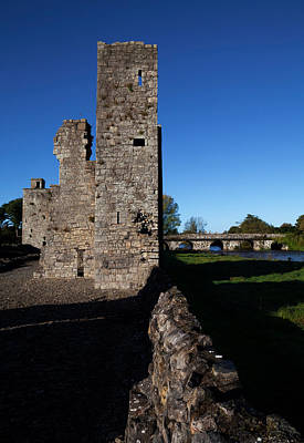 Baptist Photograph - St John The Baptist Ruins, Trim, County by Panoramic Images