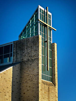 Photograph - St. John Vianney Church by David and Carol Kelly