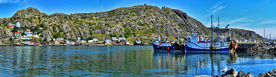 St. John's Battery Panorama Art Print by Steve Hurt