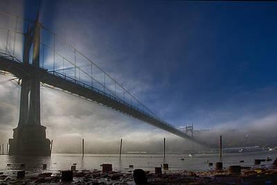 Photograph - St. Johns Bridge 1 by Robert Woodward