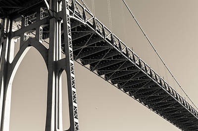 Photograph - St. Johns Bridge II by Scott Rackers