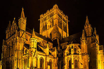 Brittish Photograph - St Johns Cathedral England by Jordan Browning