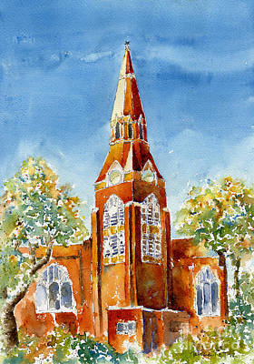 Painting - St John's Cathedral by Pat Katz