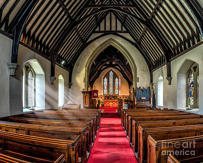 Indoor Photograph - St Johns Church by Adrian Evans