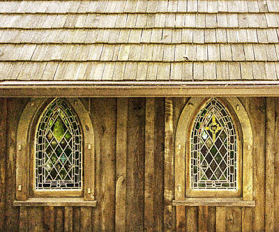 Photograph - St Johns Church - Grain Effect by Karen Stephenson