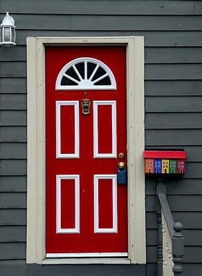 Door Photograph - St Johns Door by Steven Richman