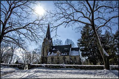 Photograph - St. Johns Episcopal by Erika Fawcett