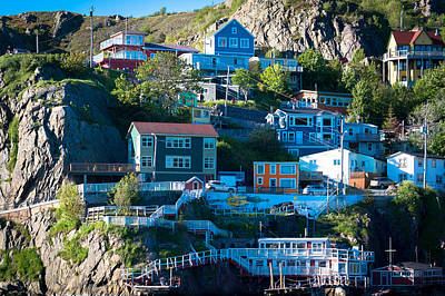 Photograph - St. John's Harbor by David Pinsent