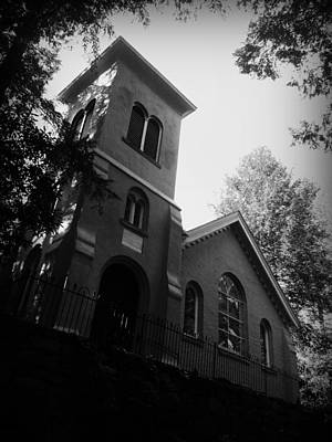 St Johns In The Wilderness Flat Rock Nc Art Print