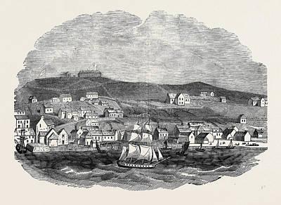 Newfoundland Drawing - St. Johns, Newfoundland by English School