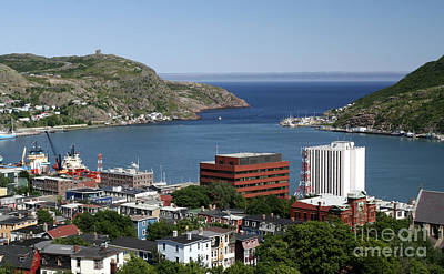 Photograph - St Johns  Newfoundland by Liz Leyden