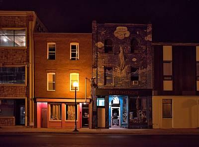Door Photograph - St. John's Nocturne by Steven Richman