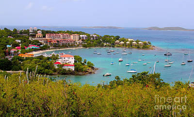 St Thomas Photograph - St John's View by Carey Chen