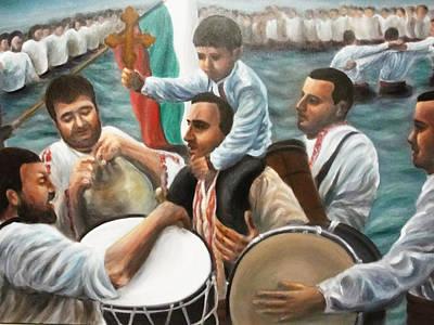 St Jordan's Day In Bulgaria Original by Viliana Atanasova