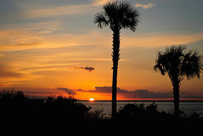 Photograph - Port St. Joe Bay Sunset 13 by George Taylor