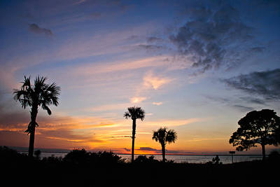 Photograph - Port St. Joe Bay Sunset 14 by George Taylor