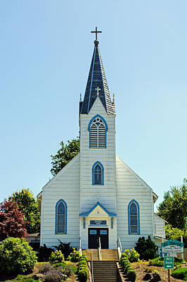 Photograph - St. Joseph Catholic Church by Tikvah's Hope