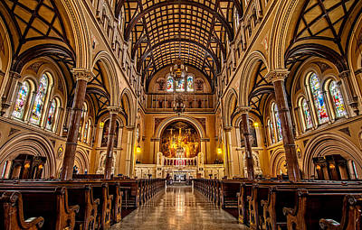 Architecture Photograph - St. Joseph Church by Andy Crawford