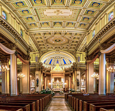 Photograph - St. Joseph Co-cathedral In Full Glory by Andy Crawford