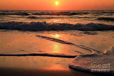 Photograph - St. Joseph Sunset Swirls by Adam Jewell