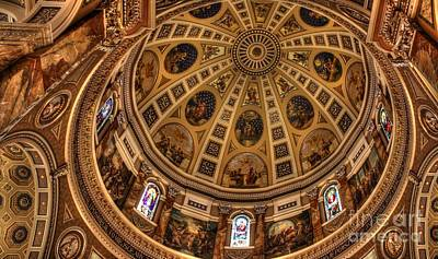 Photograph - St. Josephat Dome by David Bearden