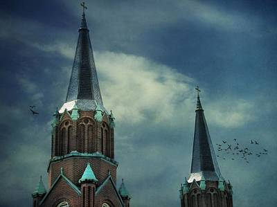 St. Joseph's Catholic Church Art Print by Dan Sproul