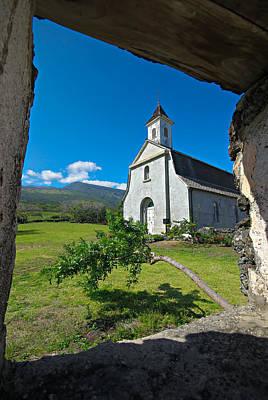 Photograph - St. Joseph's Church On Maui by Marilyn Wilson
