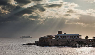 Maltese Photograph - St Julians On Malta by Frank Bach
