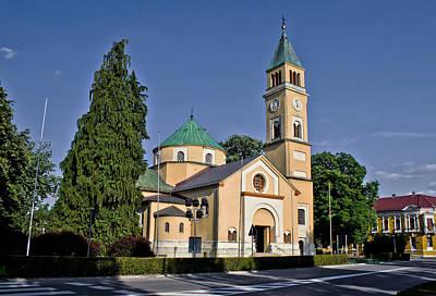 Photograph - St Juraj Church In Durdevac Croatia by Brch Photography