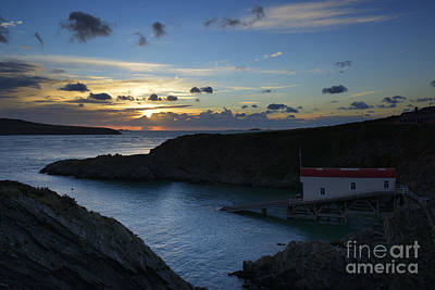 Photograph - St Justinian Sunset by Doug Wilton