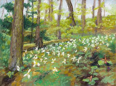 Wall Art - Painting - St. Kateri's Spring by Jennifer Richard-Morrow