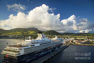Photograph - St Kitts Port by Brian Jannsen