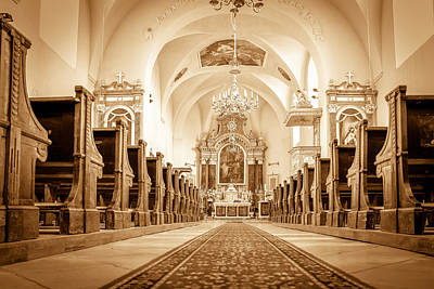 St Laszlo Roman Catholic Church Oradea Romania Art Print