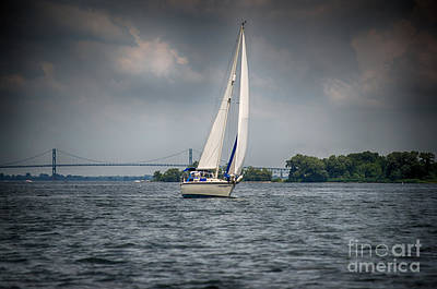 Photograph - St. Lawrence Sailing by Patricia Trudell
