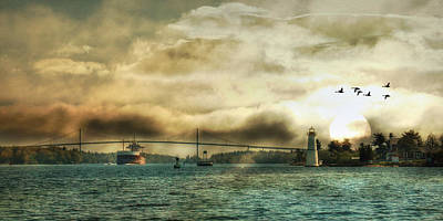 1000 Islands Wall Art - Photograph - St. Lawrence Seaway by Lori Deiter