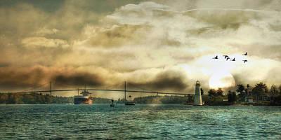 St. Lawrence Seaway Art Print